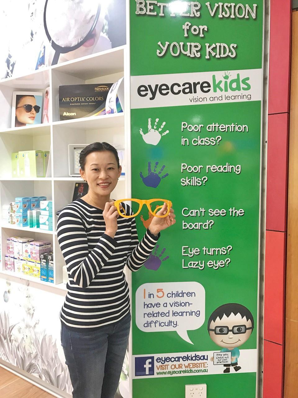 Eyecare Kids Optometrist and Founder, Dr SooJin Nam