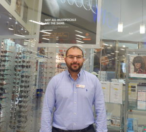 Eyecare Plus Bankstown and Chullora Optometrist Dr Ali Khalife